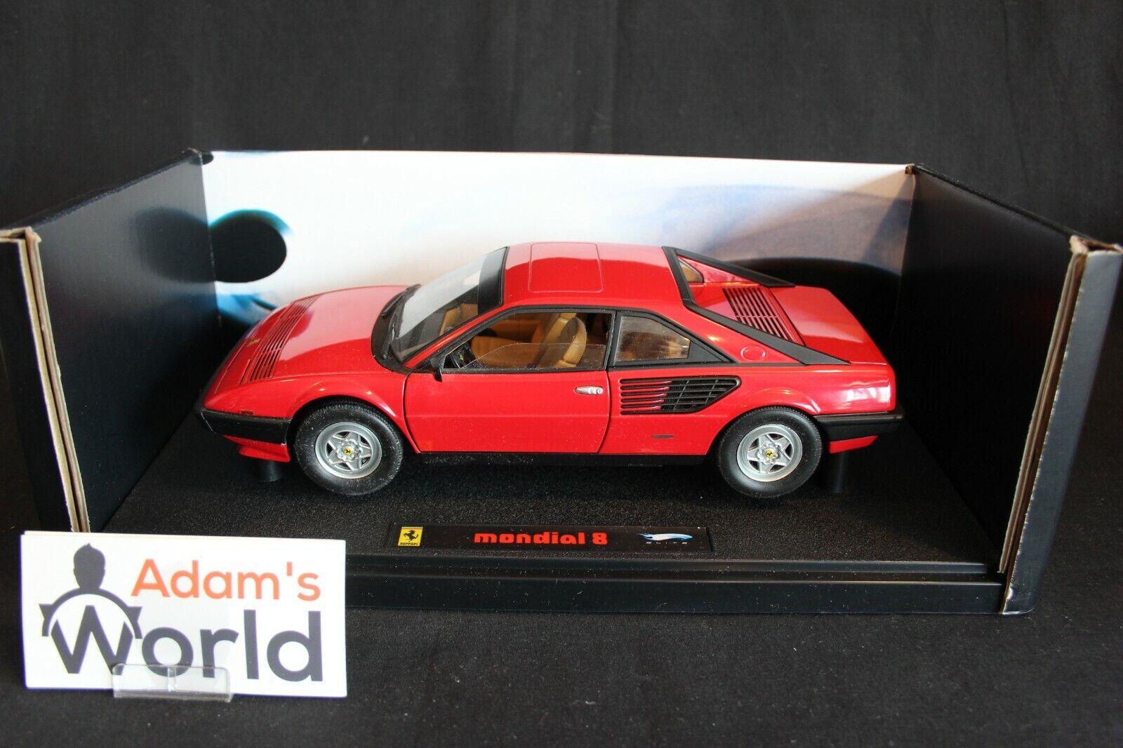 Hot Wheels Elite Ferrari Mondial 8 1 18 rosso (PJBB)