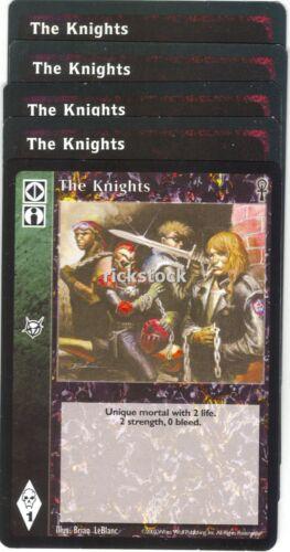 The Knights x5 Jyhad CE Lot B VTES