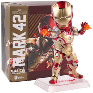 Egg-Attack-Iron-Man-Mark-42-XLII-Movie-Action-Figure-Collectible-Model-Toy