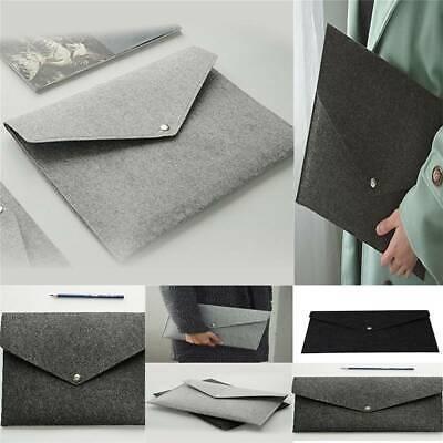 Elegant Document Bag File Folder Paper Holder Canvas Felt File Briefcase