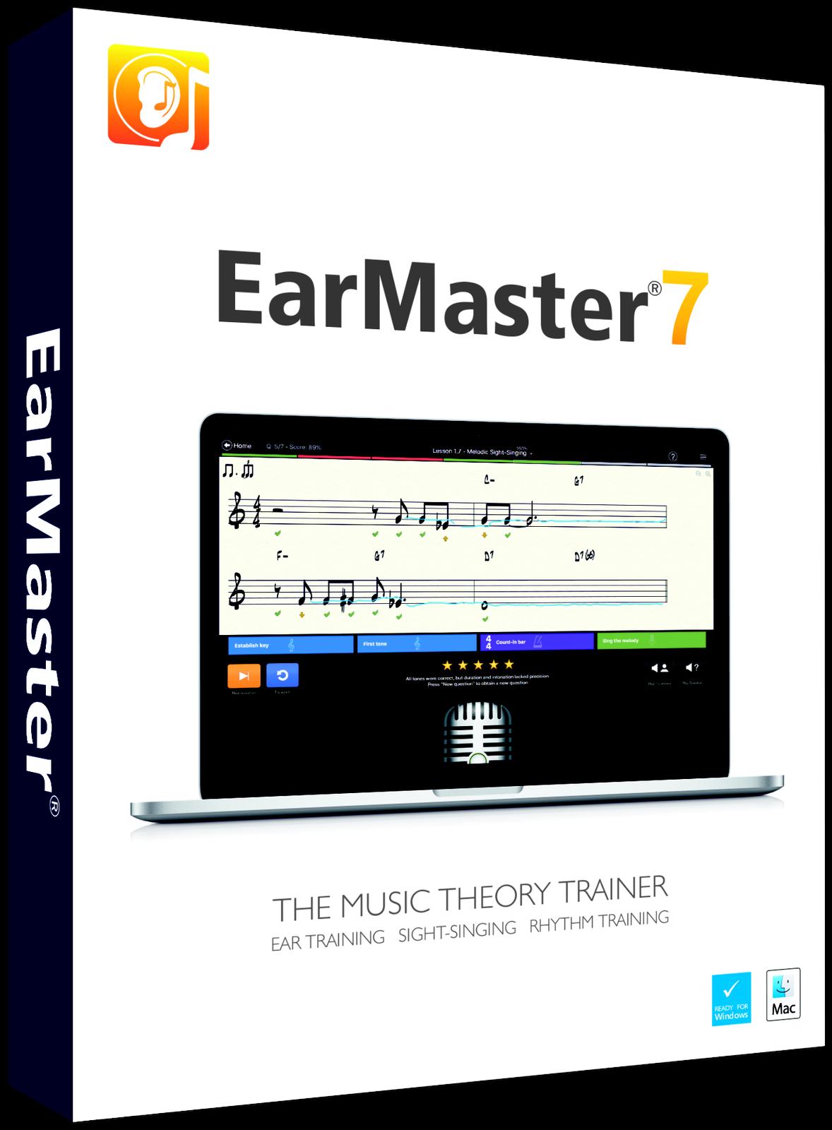 vendendo bene in tutto il mondo EarMaster EarMaster 7-software 7-software 7-software per formazione udito  Miglior prezzo