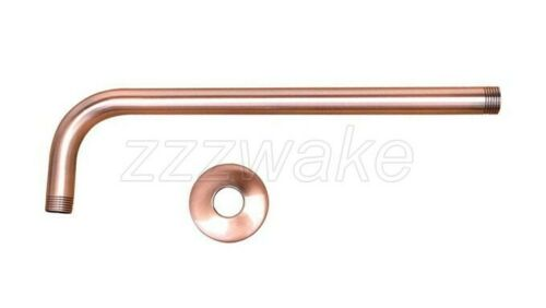 Details about  /Antique Red Copper Shower Arm for Wall mounted Shower Head Fixed Pipe Zsh100