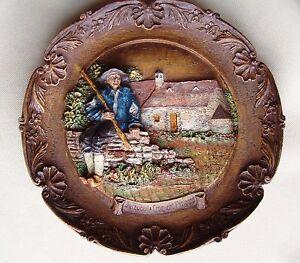 Jacquou-le-Croquant-Perigord-murale-assiette-bois-artisanal-fait-main-France