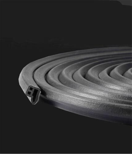 5M L-Shape Moulding Trim Rubber Strip For Car Door//Hood Edge Seal Weather-strip
