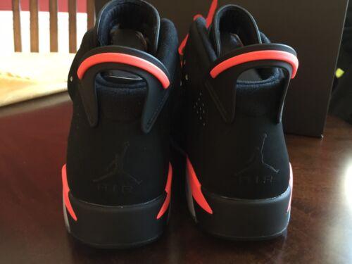 Air Jordan 6 VI Retro Black Infrared 384664-023 Mens Kids Youth Gradeschool GS