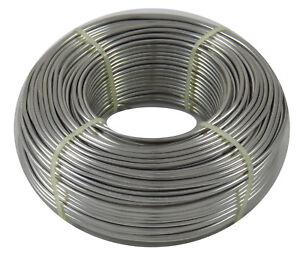 (0,22 €/m) aludraht 2,5mm aproximadamente 76m 1kg biegedraht basteldraht joyas alambre alambre  </span>