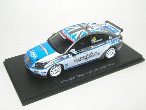 Chevrolet Cruze 1.6t  9 Wtcc 2013 A. Mac Dowall 1 43 Model S2451 SPARK MODEL  | Exquisite Handwerkskunst