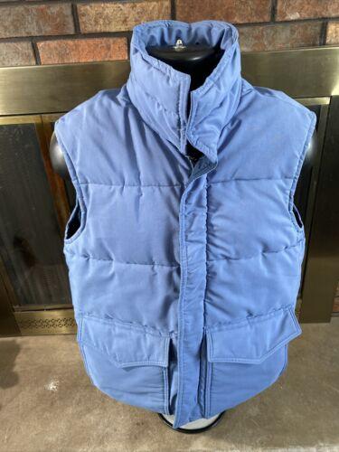 Vintage Frostline Kit Down Puffer Vest Mens Sz Med