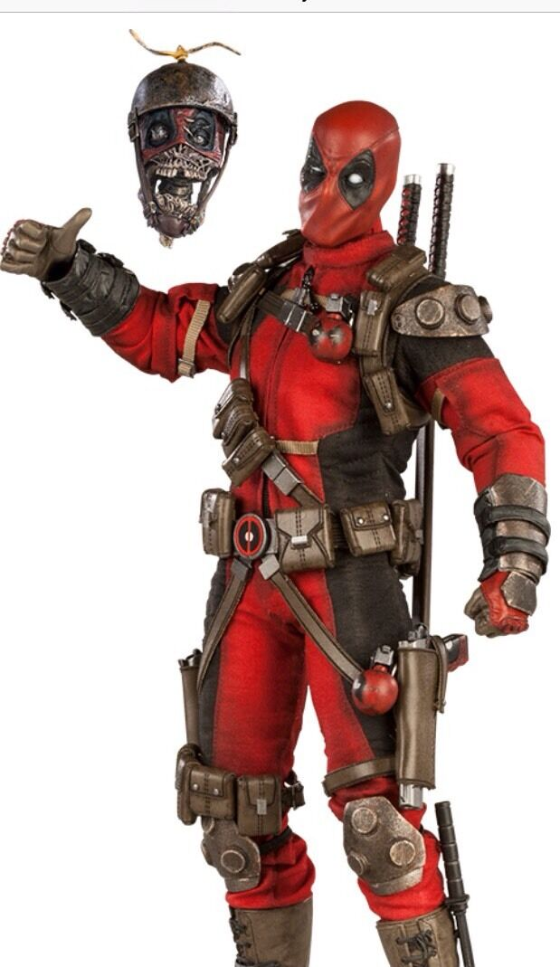 Sideshow Collectibles Deadpool sixth scale Exclusive.