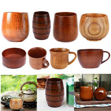 Handmade Jujube Wooden Wine Goblet Water Cup 100ml B5o1 for