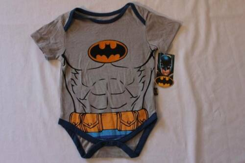 NEW Baby Boys Batman Bodysuit 18 Months Creeper Outfit 1 Piece Superhero Costume