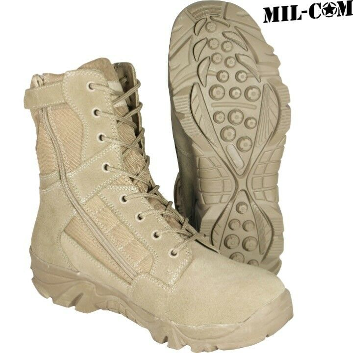 CLEARANCE  MIL-COM COYOTE SAND RECON Stiefel ARMY Herren DESERT SUEDE PATROL  Herren ARMY UK 7 8 bdc947