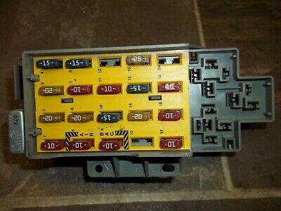 2000-2002 DODGE NEON CABIN FUSE RELAY BOX BLOCK UNDER DASH OEM   eBay   2002 Dodge Neon Fuse Box Location      eBay