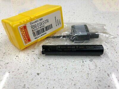 11.7 mm Connection Diameter Sandvik Coromant R390-0137EH12-07M Coromill 390 Square Shoulder Milling Cutter 13.7 mm Maximum Cutting Diameter 5.8 mm Maximum Depth of Cut