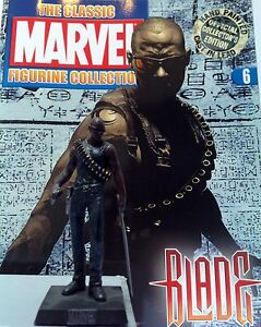 Classic Marvel Figurine Collection BLADE ISSUE 6 EAGLEMOSS RARE SALE - <span itemprop=availableAtOrFrom>London, United Kingdom</span> - Classic Marvel Figurine Collection BLADE ISSUE 6 EAGLEMOSS RARE SALE - London, United Kingdom