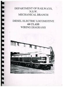 details about nsw 44 class locomotive wiring diagrams  locomotive wiring diagrams #7