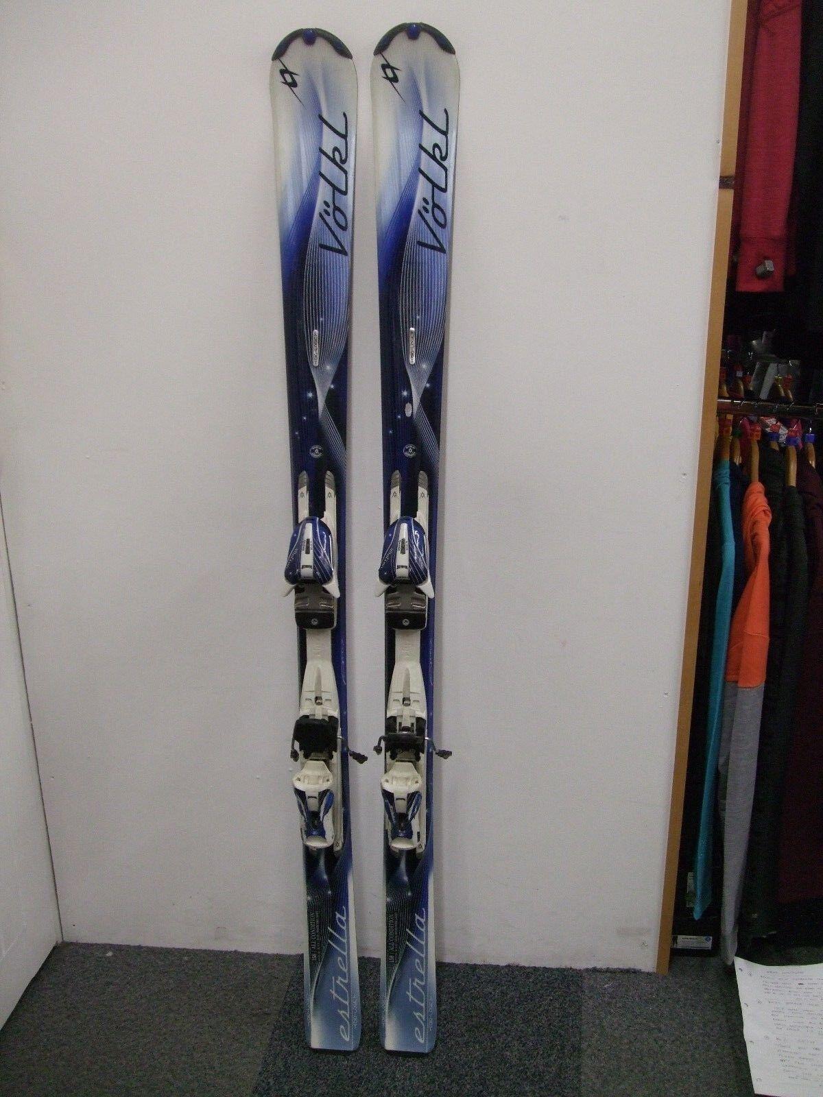 Volkl Estrella Ladies Skis, 158cm