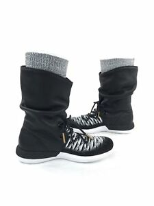 9ebf05a629482 NIKE Women s Size 7 Roshe Two Flyknit Hi Boots 861708-002 MSRP  225 ...