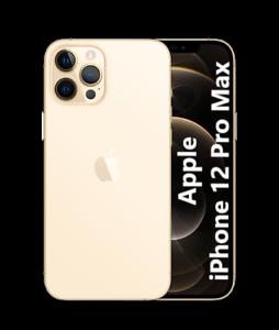 Apple iPhone 12 PRO MAX 5G 128GB ITALIA NUOVO Originale Smartphone Gold Oro