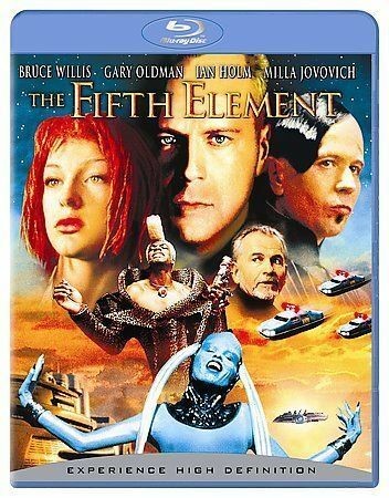 The Fifth Element (Remastered) [Blu-ray] Bruce Willis, Gary Oldman, Ian Holm, M