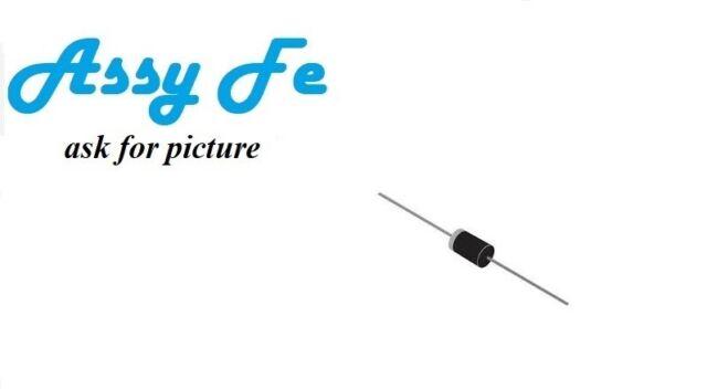 6 pcs  x BY255 DIODE-AXIAL diodo recitificador RECTIFIER 3A 1300V DO-201