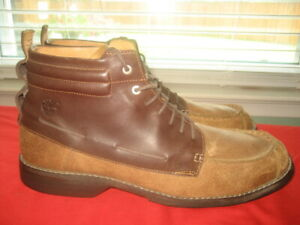 TIMBERLAND-EARTH-KEEPER-BROWN-LEATHER-BOOTS-Mens-Size-11-M-EUR-44-5-UK-10