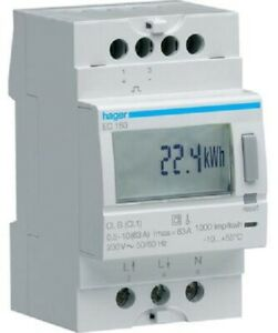 Electricity Meter Single Phase Smart Kilowatt kWh Voltage Electric Submeter