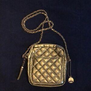 ea95573118 Image is loading Womens-Big-Buddha-Crossbody-handbag-Purse-gold-quilted-