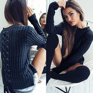 New-Women-Long-Sleeve-Knitwear-Jumper-Cardigan-Long-Coat-Jacket-Casual-Sweater