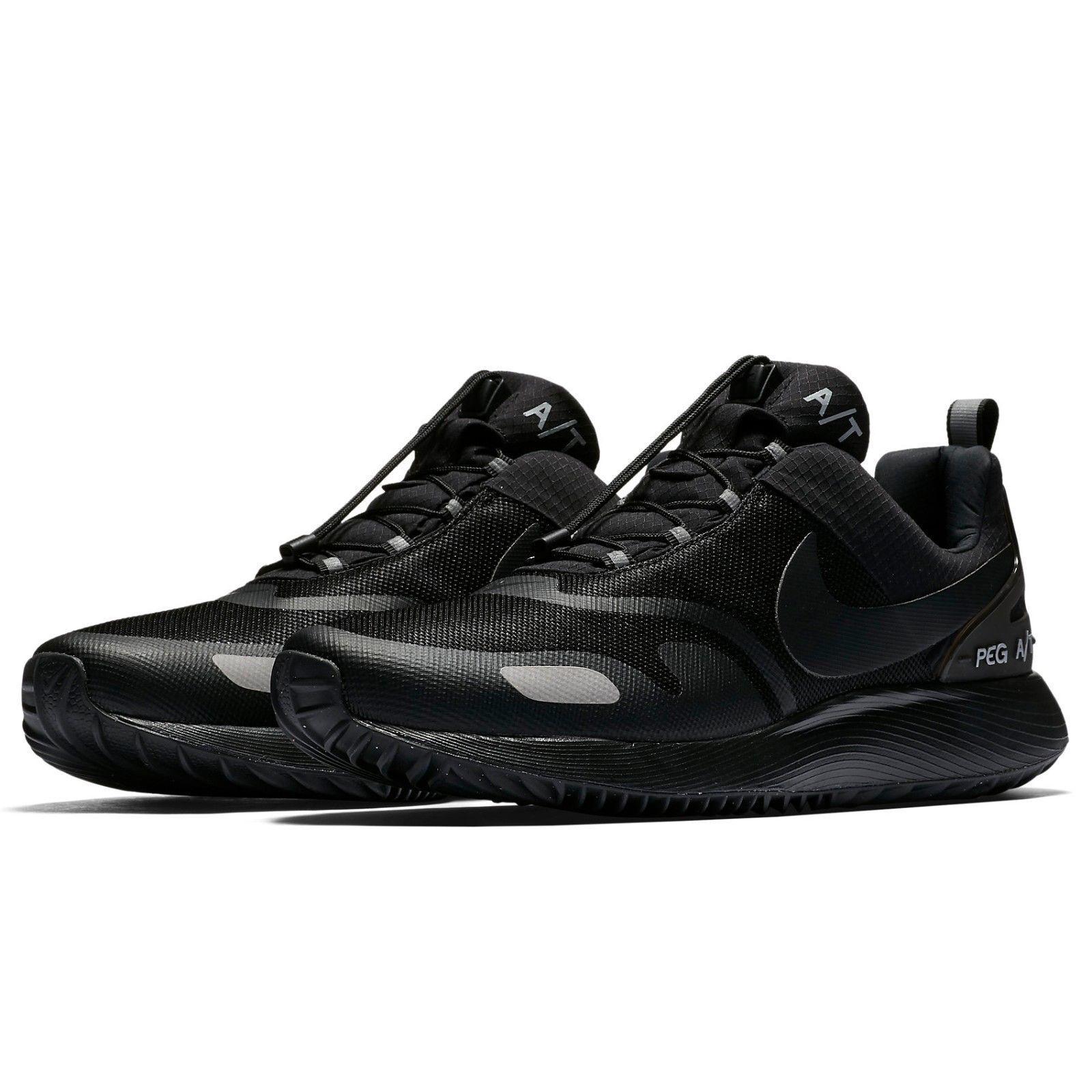 Nike air pegasus a / t winter mens casual schuh schwarzer wolf grau 924497 001