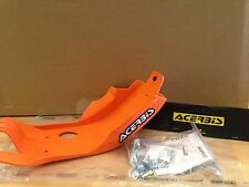 KTM  SXF 250  2016 - 2017  ACERBIS MX PLASTIC SKID GLIDE PLATE SUMP GUARD ORANGE