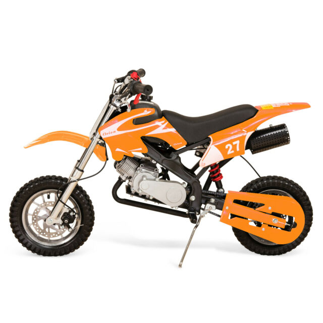 3268487a79f Hawkmoto 49cc Petrol Kids Mini Dirt Bike Moto Cross Scrambler Sr-49 ...