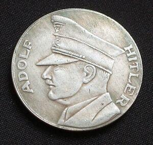 WW2-GERMAN-COIN-REICHSFUHRER-ADOLF-HITLER-1934-1945-3RD-REICH
