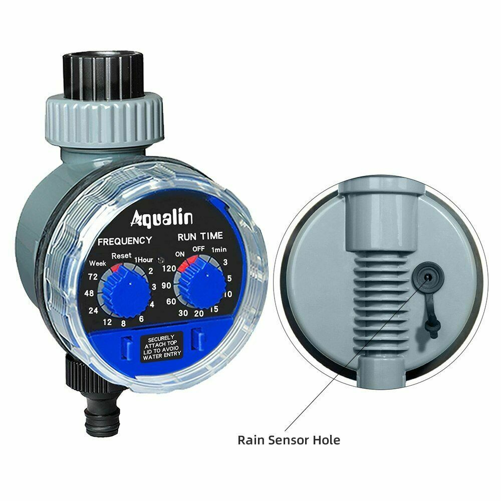 Garden Watering Timer Ball Valve Automatic Outdoor Water Irrigation Timing Patio