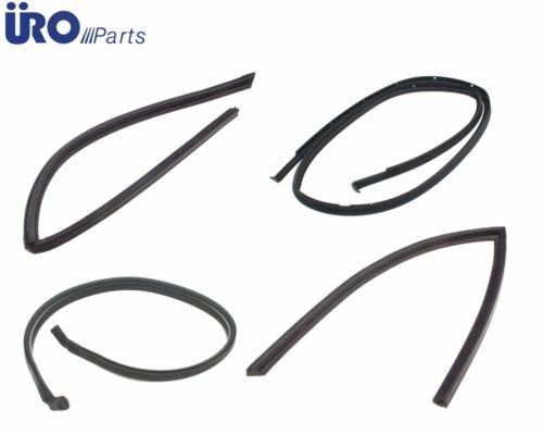 For Mercedes R107 Convertible Hard Top Seals 4 pcs Front Rear L+R Weatherstrip