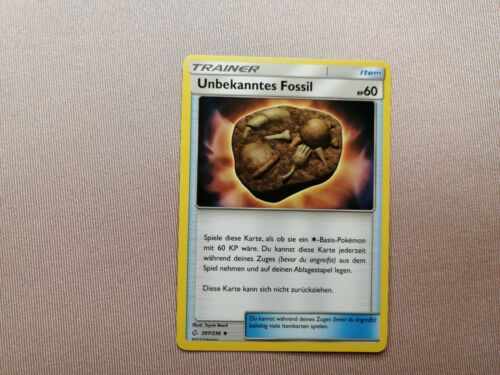 POKEMON-Mondes en mutation sm12-inconnu Fossil 207//236 Near Comme neuf