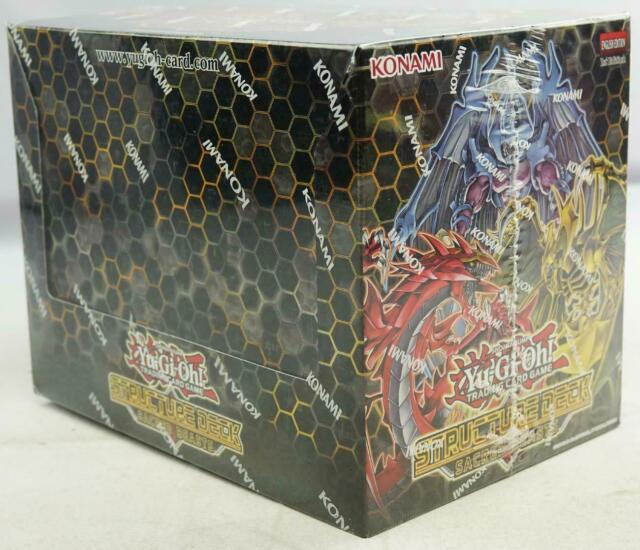 YU-GI-OH Sacred Beasts Structure Deck Box