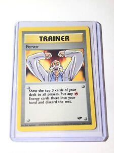 Fervor 124//132 Trainer Gym Challenge Pokemon Card