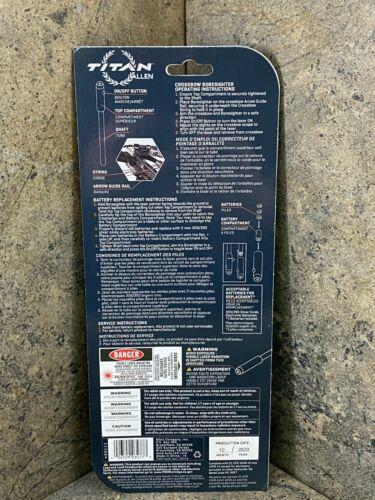 Adjustable Laser Beam Details about  /Allen Titan Laser Crossbow Boresighter 60111