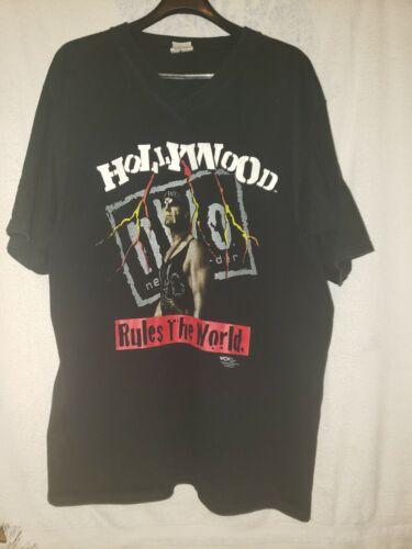 """Vintage WCW """"Hollywood Hogan"""" N.W.O. Tshirt. Sz.XL - image 1"""