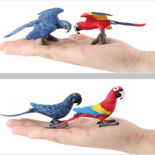 Mini Bird Model Figures Landscape Ornaments Home Garden Decoration Model N7