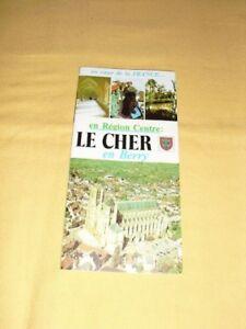 Le Cher En Berry Tract Dépliant Prospectus Flyer Tourisme Brochure Z0w5lpfm-07214107-422101904