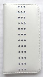 Ayano-Kimura-Custodia-a-libro-cellulare-bianco-pelle-nappa-per-iPhone-SE-5-5S