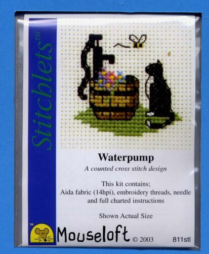 Stitchlets xstitch Kit por mouseloft waterpump