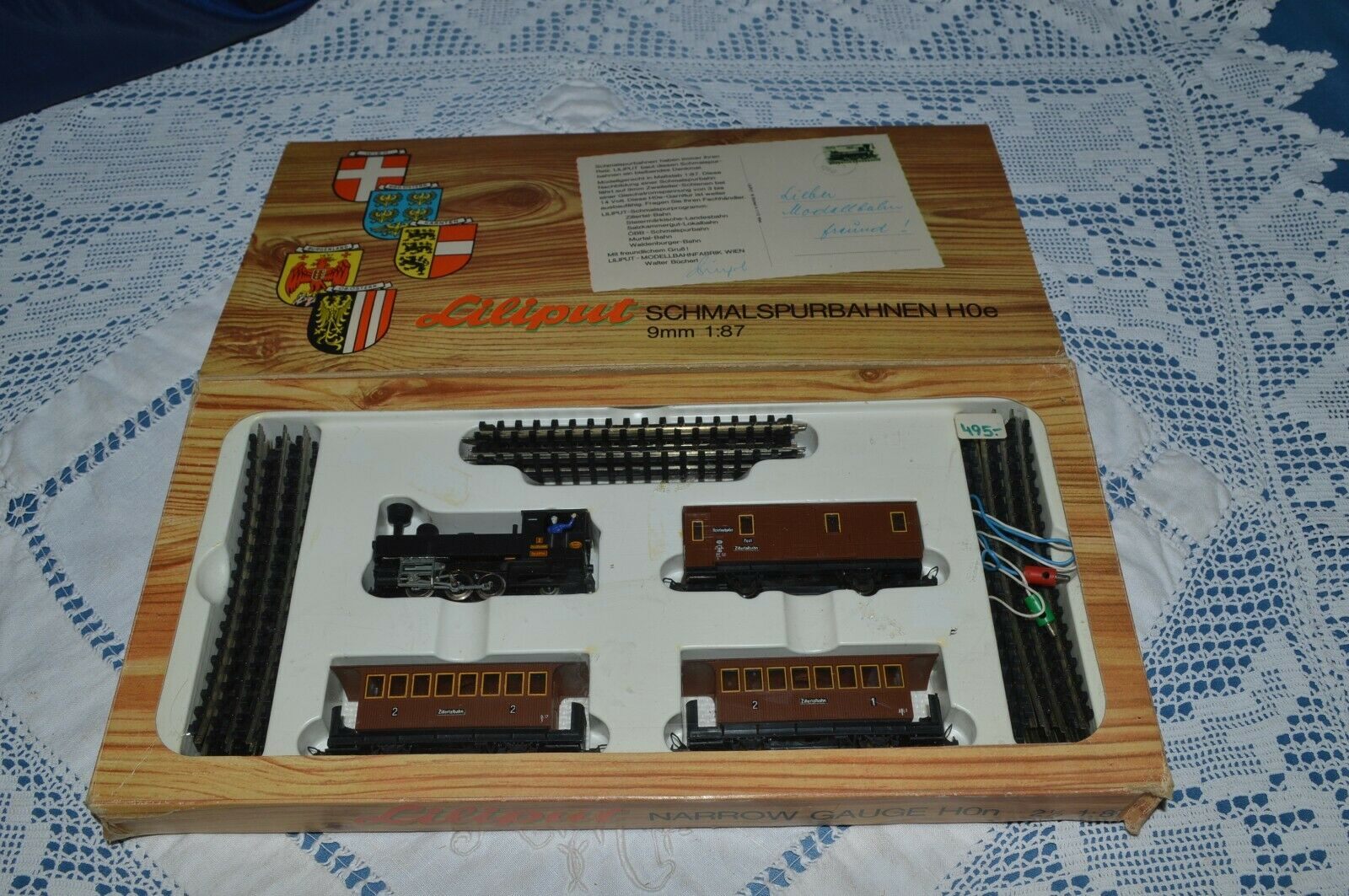 Ataúdes raros. Refacción de de de Railway 7011 en Hoe 9 mm 1  87. 499