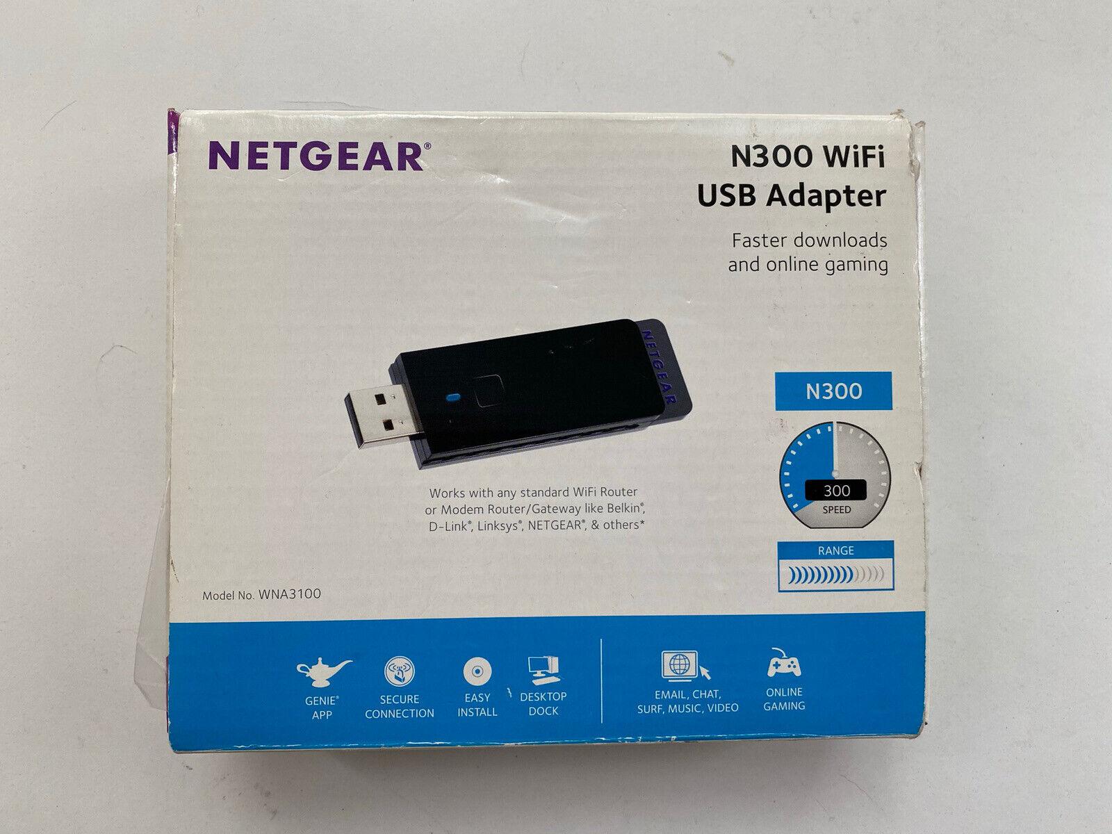 Hariier WiFi Network Card Receiver For Netgear WNA3100 N300 Wireless USB Adapter 300M Z09 Drop ship