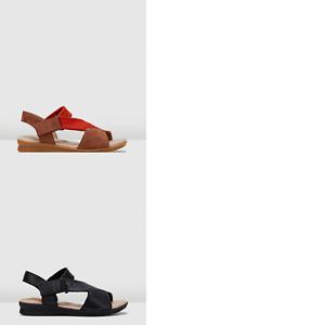 Womens-Hush-Puppies-Nizki-Sandals-Flats-Summer-Slingback-Comfortable-Shoes