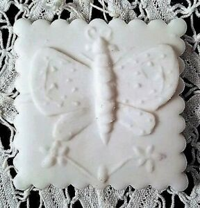 PRIMITIVE-WOOD-HAND-CARVED-Springerle-Butter-Cookie-Stamp-Press-Mold-BUTTERFLY