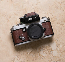 Nikon F2 W/ DP-1 Replacement Cover, Laser Cut - Genuine Leather