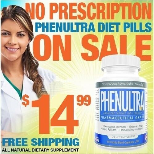 1 PhenUltra Lose Adipex Weight Appetite Suppression Diet Pills for Men & Women